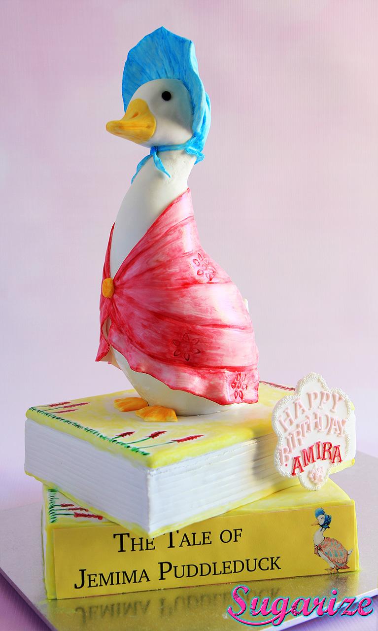Jemima Puddleduck Cake