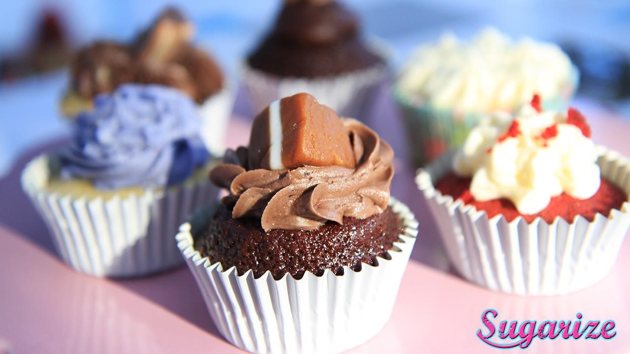 jersey caramel cupcake